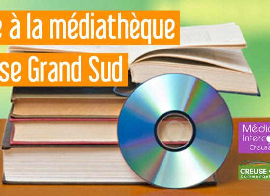 Médiathèque Creuse Grand Sud : mise en place d'un drive à Aubusson et Felletin