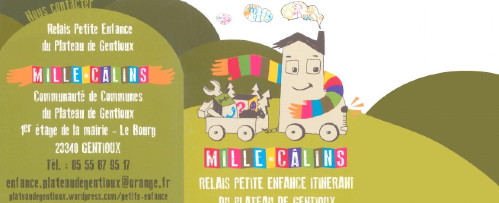 Ateliers d'octobre relais petite enfance «millecâlins»