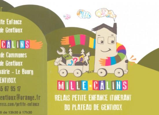 Relais petite enfance « Millecâlins » – Ateliers juin 2014