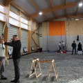 Inauguration du boulodrome intercommunal