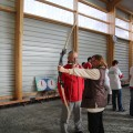 Inauguration du boulodrome intercommunal