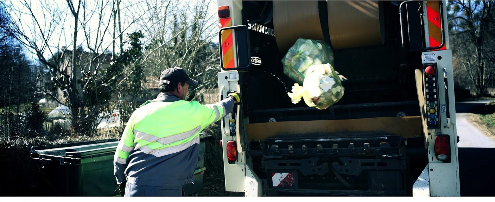 PETIT RAPPEL : ramassage des ordures ménagères