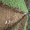 Sondages archéologiques dans la zone du Mont