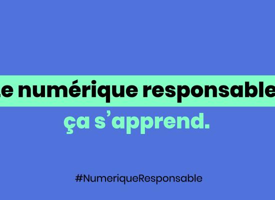 Numérique responsable, un kit pédagogique du citoyen