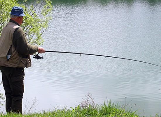 Ouverture de la pêche dans l'étang de la Marchette