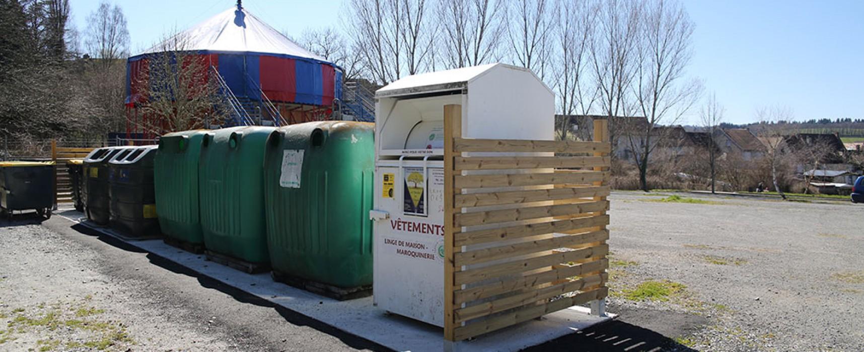 Felletin – Déplacement du point d'apport volontaire de l'aire de service pour camping-car
