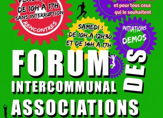 Des nouveautés pour le forum intercommunal des associations