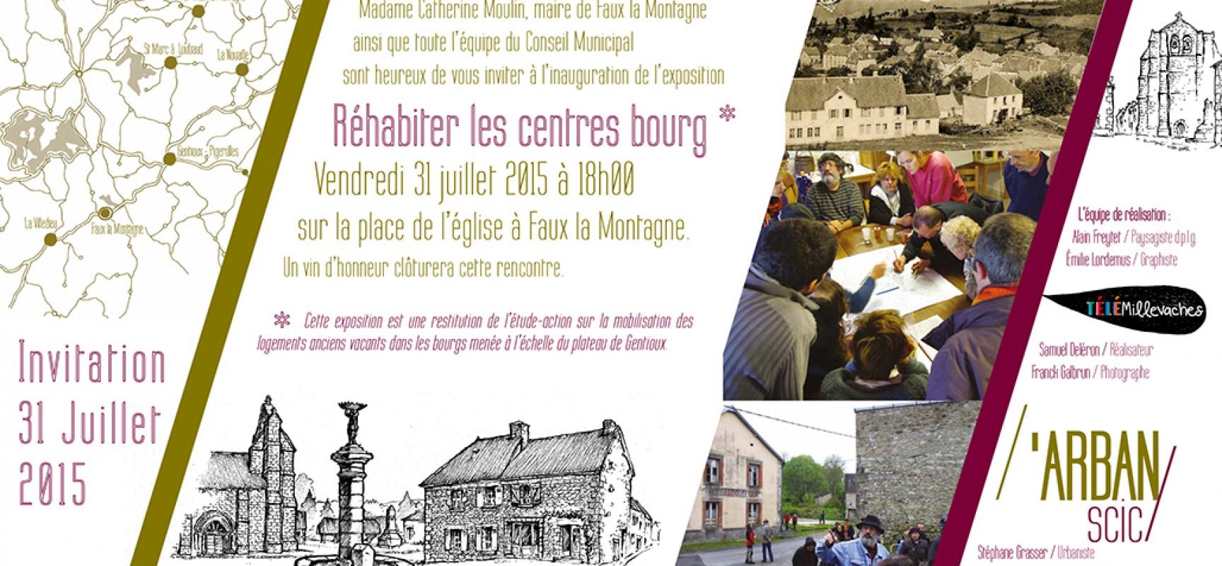 Comment réhabiter les centres bourgs et réutiliser le bâti ancien ?