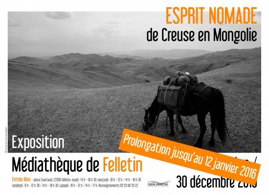 «ESPRIT NOMADE de Creuse en Mongolie»