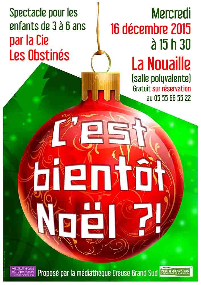 Affiche spectacle Noel DEC 15