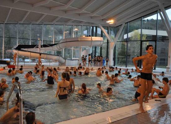 Succès complet des 1ères portes ouvertes de la piscine intercommunale