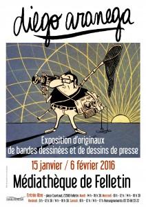 Affiche expo ARANEGA couleur JANV 16