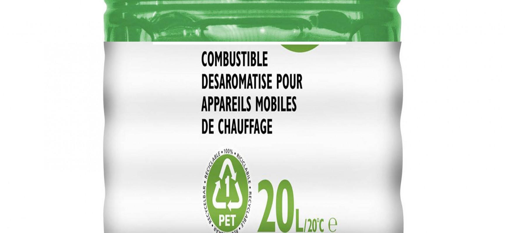 Recyclage des bidons de combustibles pour les appareils de chauffage d'appoint