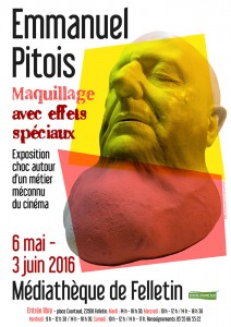 Affiche expo PITOIS MAI 16