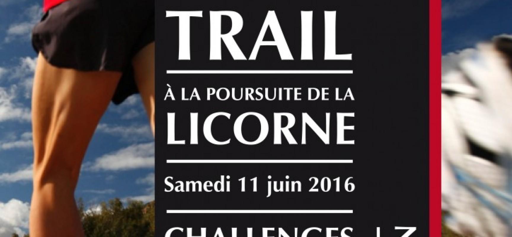 Challenge des trails de la Licorne et du Tranloup, AQUASUD partenaire !