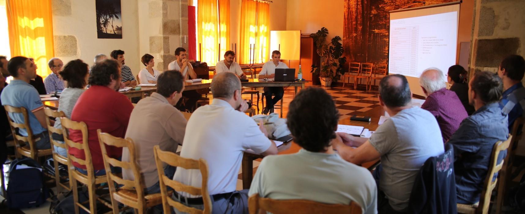 [Projet en cours de réalisation] Première réunion du comité de pilotage du projet «Creuse Amont»