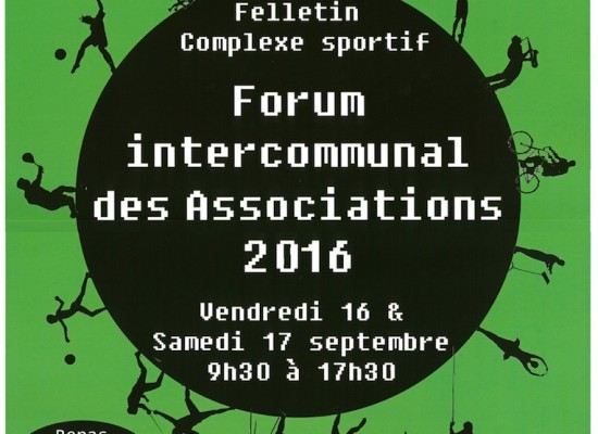 Forum des associations Creuse Grand Sud – sept 2016