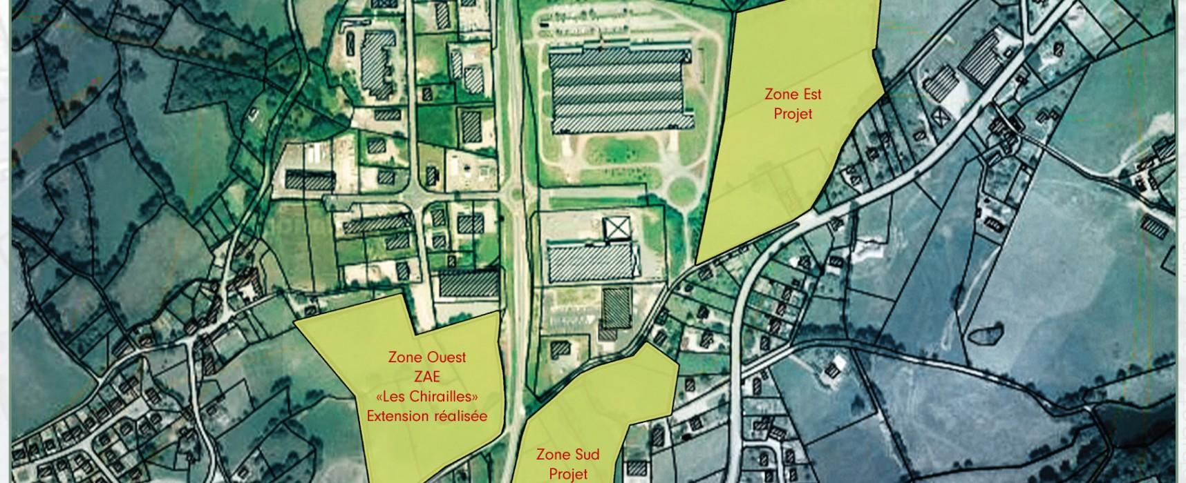 [Projet en cours de réalisation] Zones d'activités