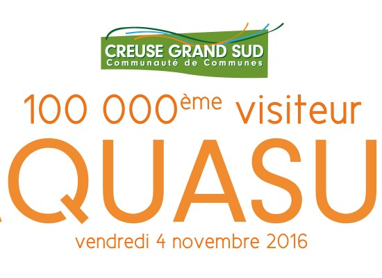Le 100.000ème visiteur à la piscine AQUASUD!