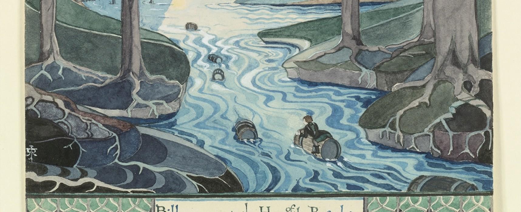 L'invité culture #RFI «Aubusson tisse Tolkien», les aventures Bilbo, Gandalf et les autres… sur tapisserie