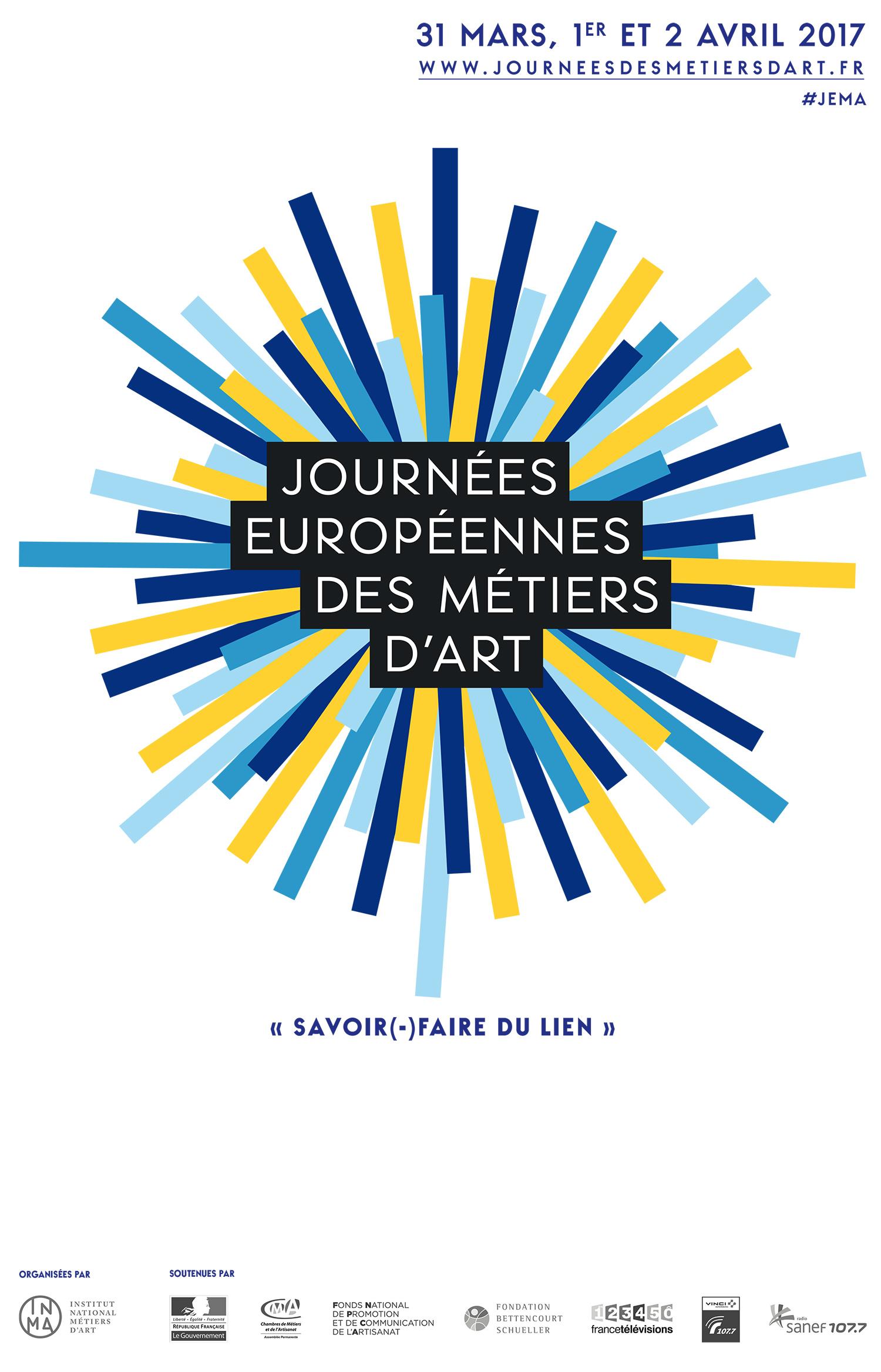 Journ es europ ennes des m tiers d art jema2017 creuse for Cours de design