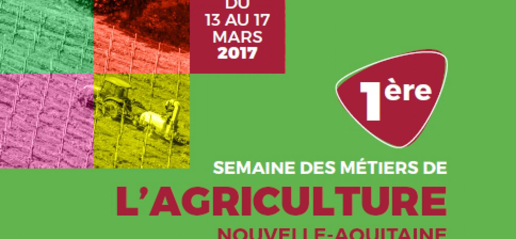 1ère  Semaine des Métiers de l'Agriculture Nouvelle Aquitaine
