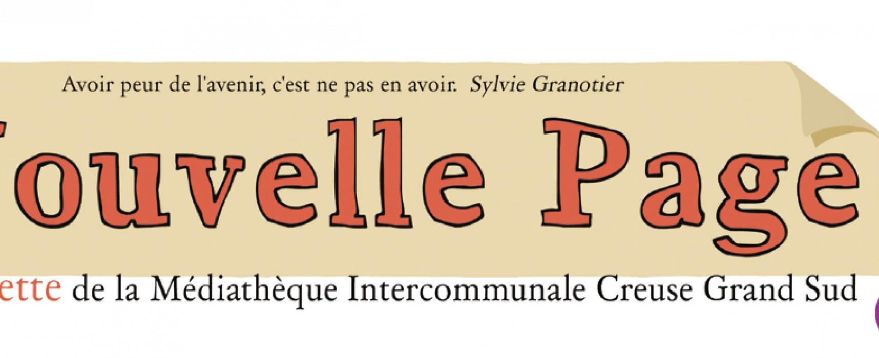 La gazette de juin de la médiathèque Creuse Grand Sud est arrivée !