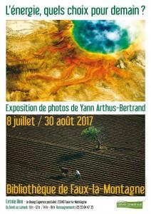 Affiche expo énergie FAUX été 17
