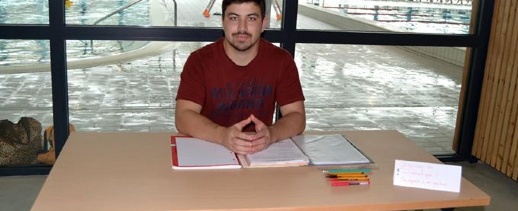 Aquasud accueil un étudiant en détiétique