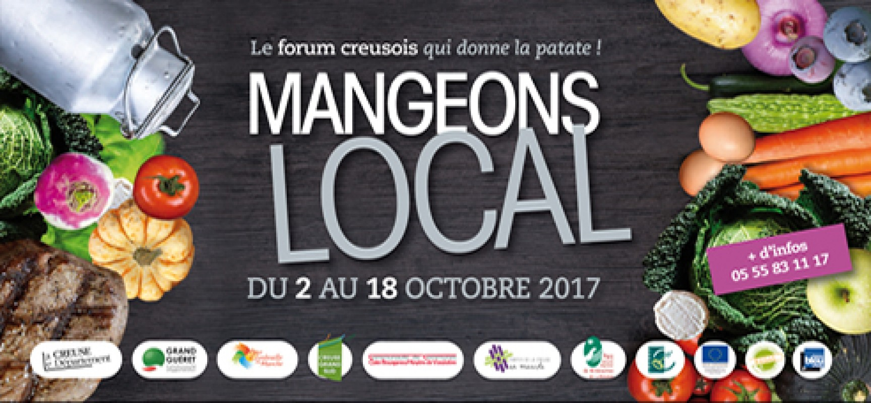 1er Forum de l'alimentation locale