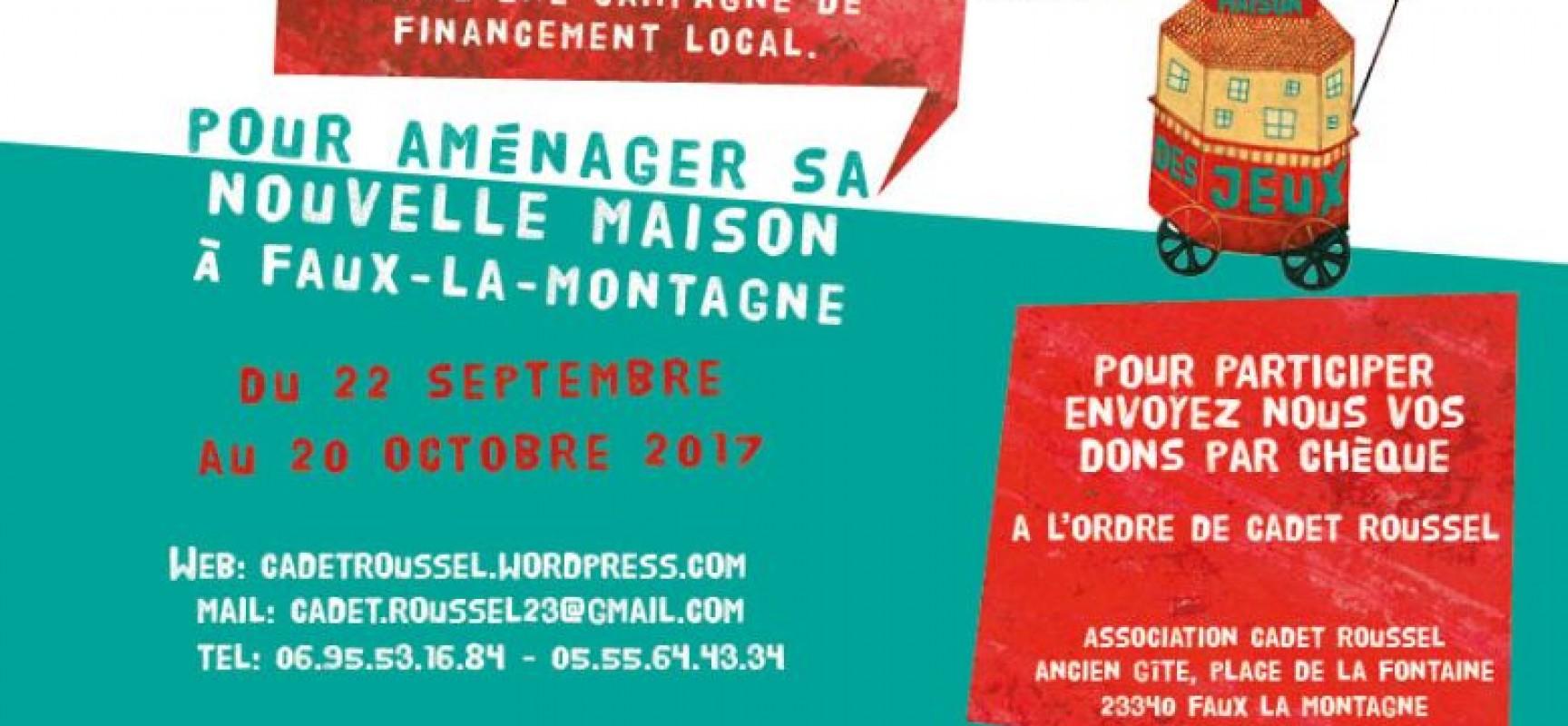 Lancement de la campagne de financement local de Cadet Roussel
