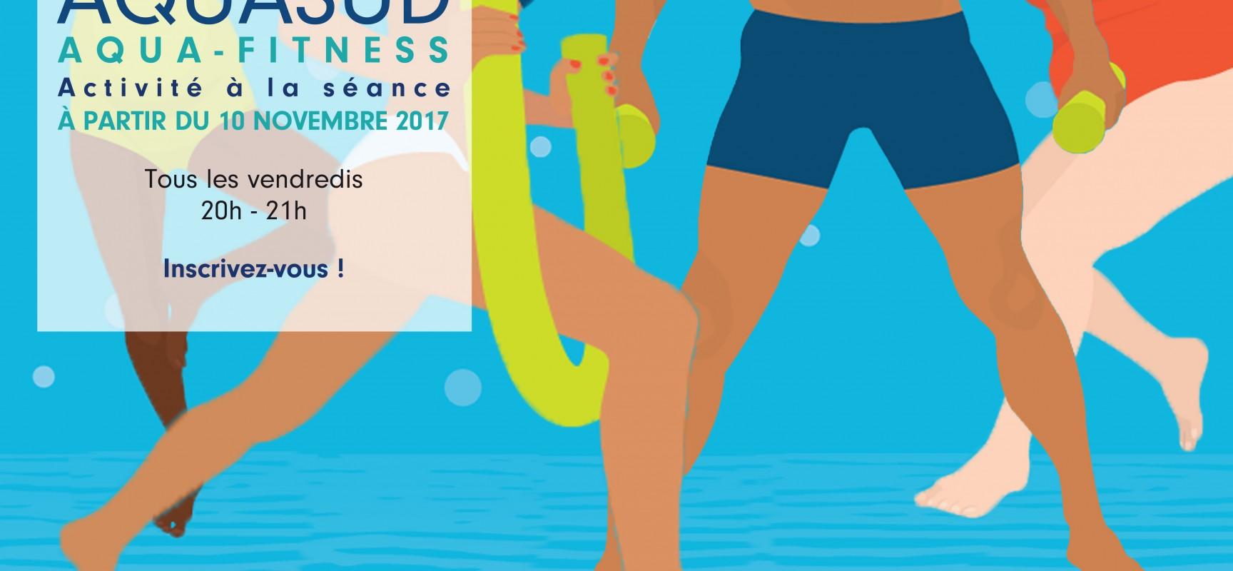 Nouveau: des cours d'Aqua-fitness à Aquasud
