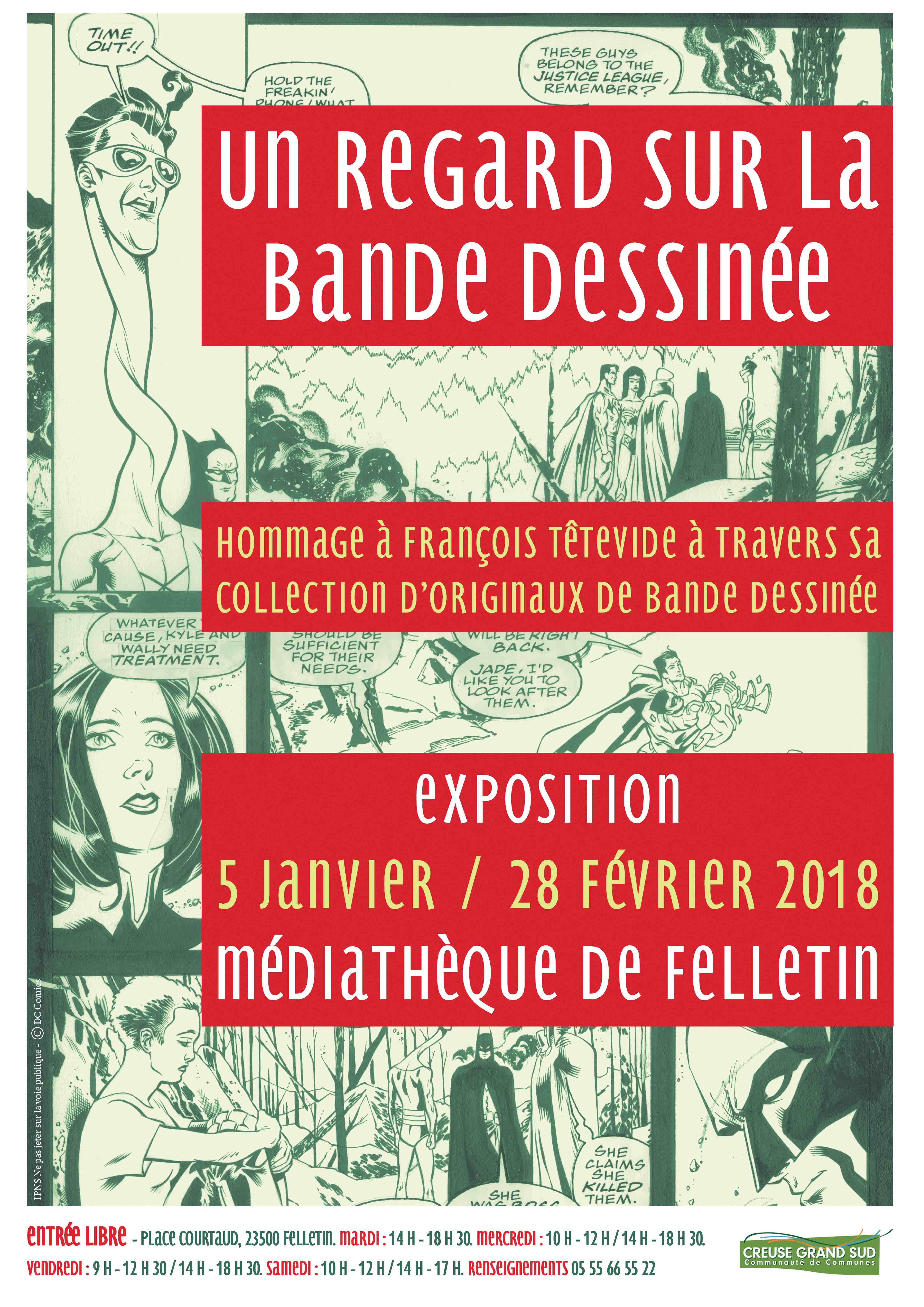 affiche expo BD JAN-FEV 18
