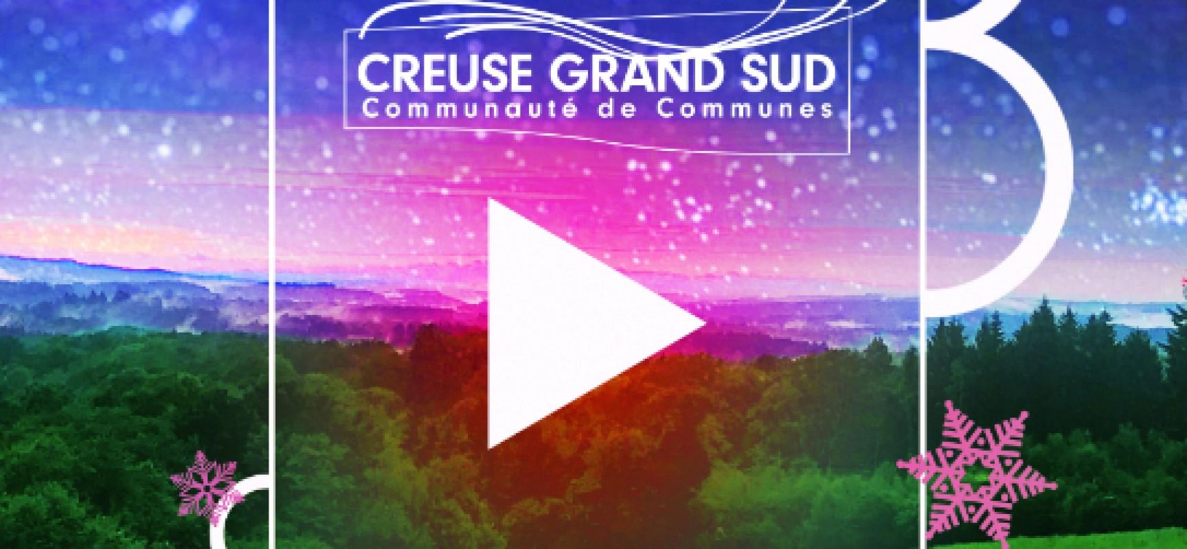 Cérémonie des voeux de la Communauté de communes Creuse Grand Sud