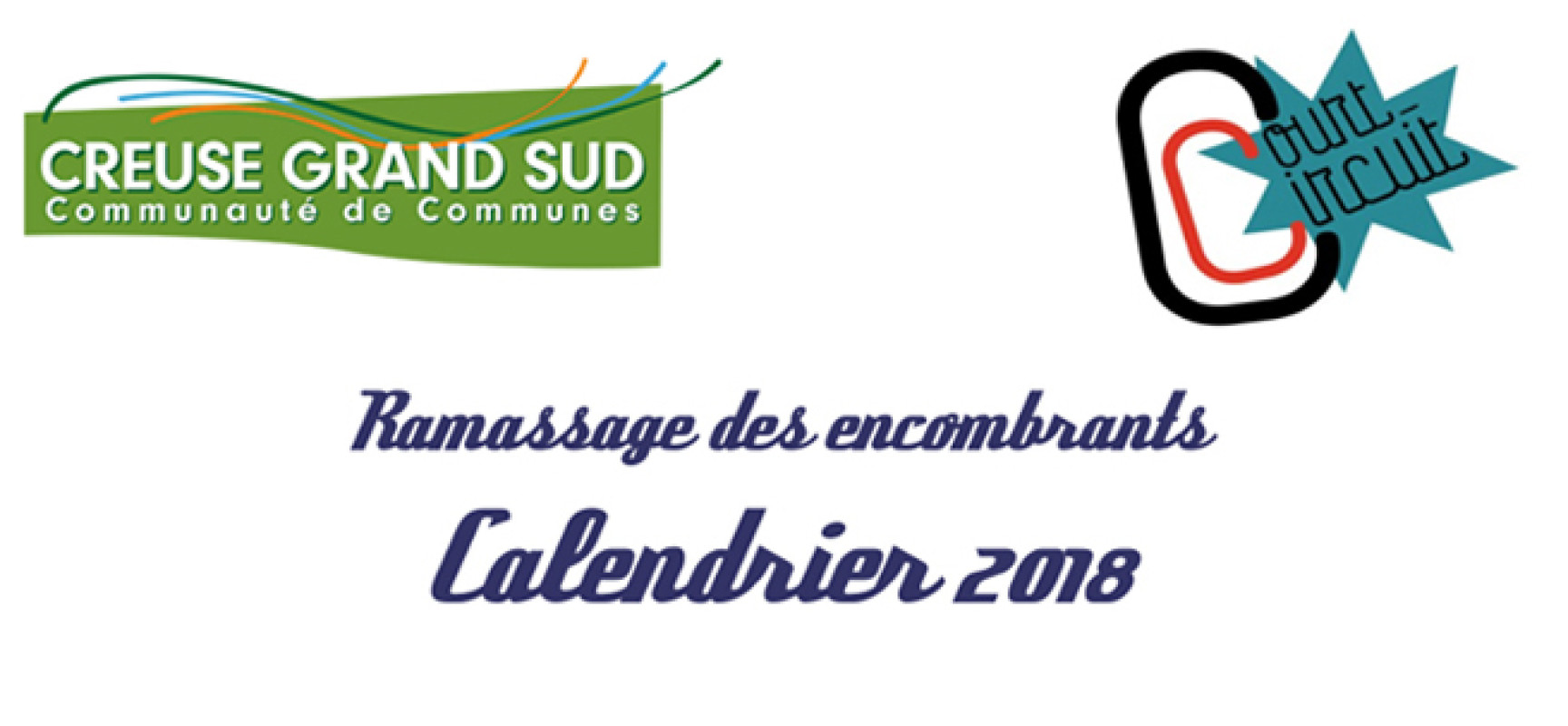 Ramassage des encombrants – Calendrier 2018