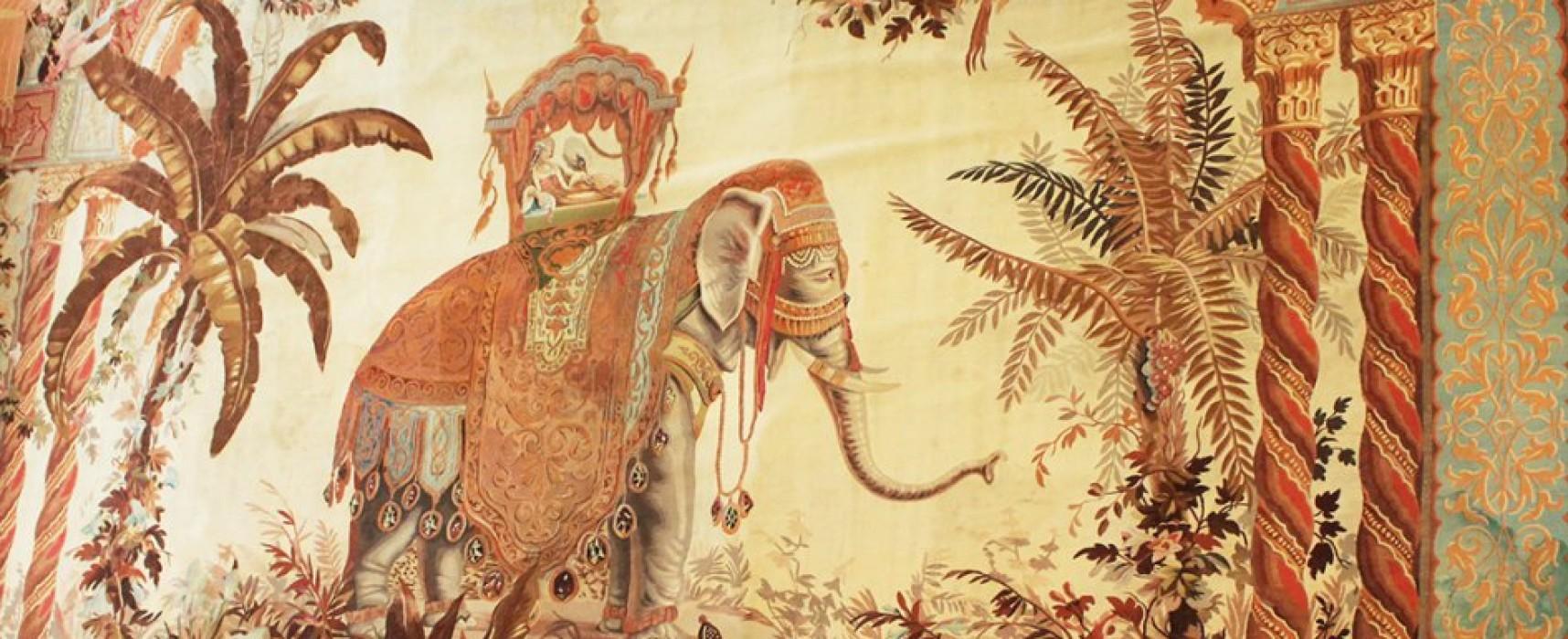 « L'Asie », tissée en 1844 par Sallandrouze, a retrouvé ses terres creusoises, prêtée par le Louvre