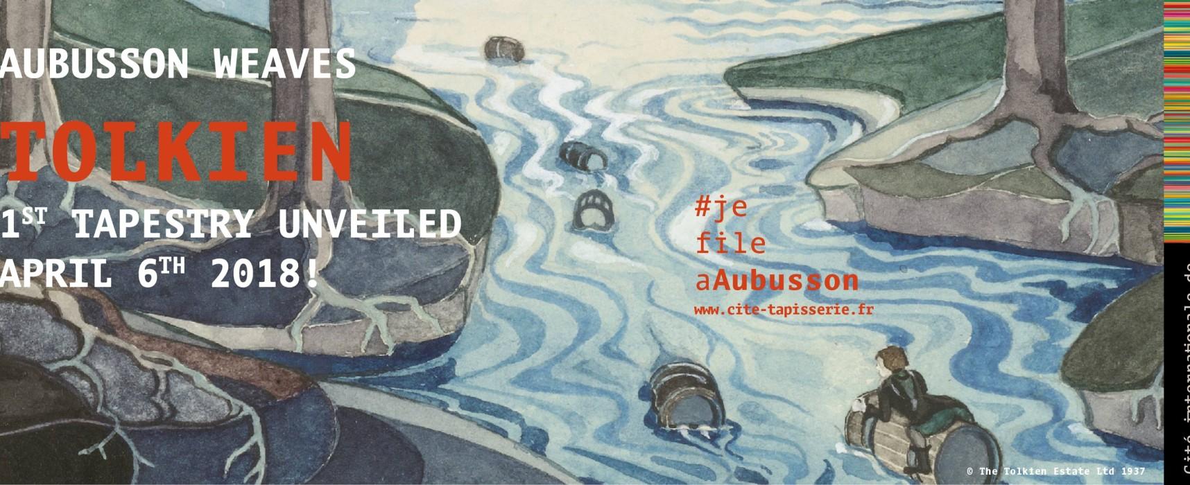 Tapisserie Tolkien #1 – Tombée de métier / First Tolkien tapestry unveiling