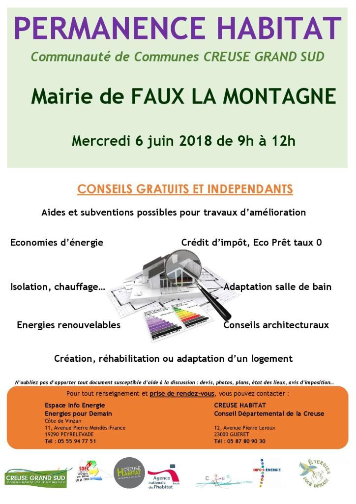 Affiche permanence Habitat FAUX 06062018