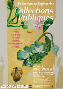 affiche expo tapisseries 2018
