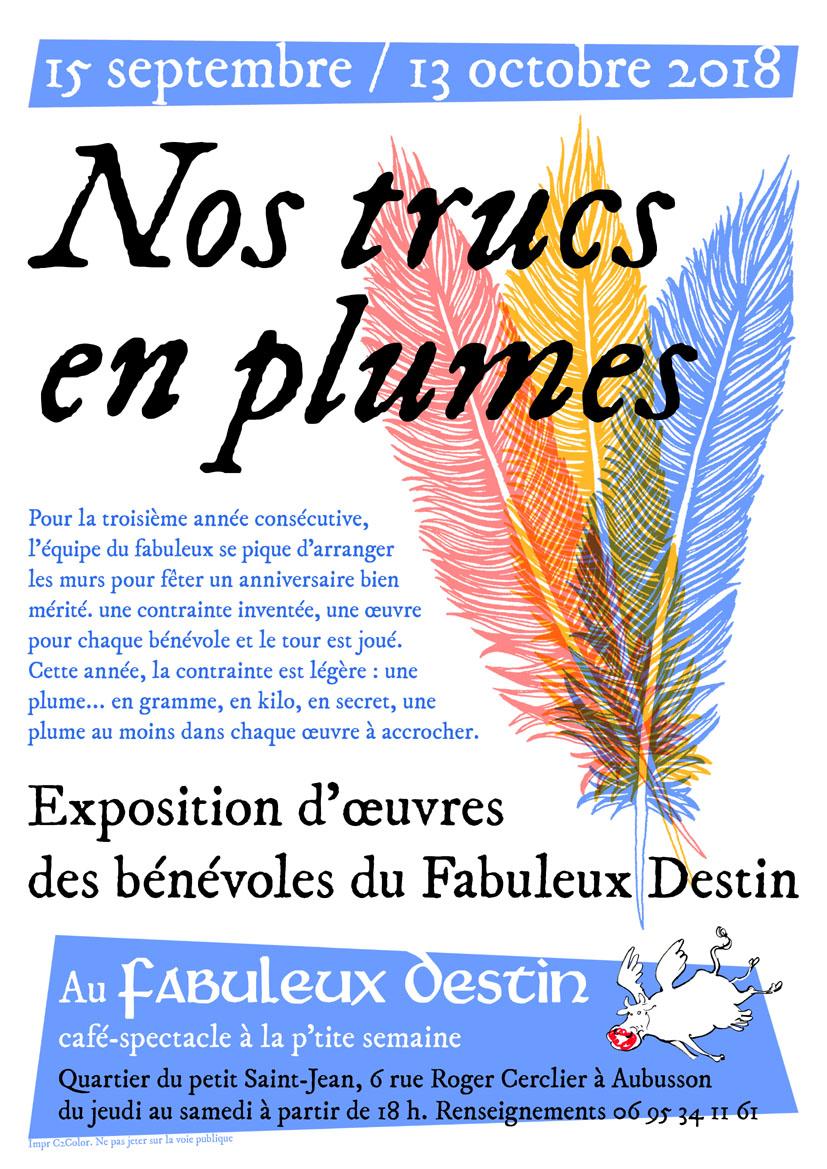 Expo Bénévoles SEPT-OCT 18