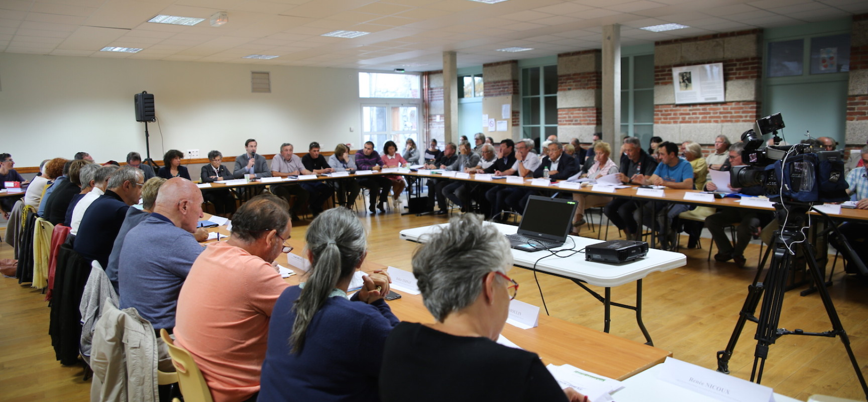Conseil communautaire Creuse Grand Sud