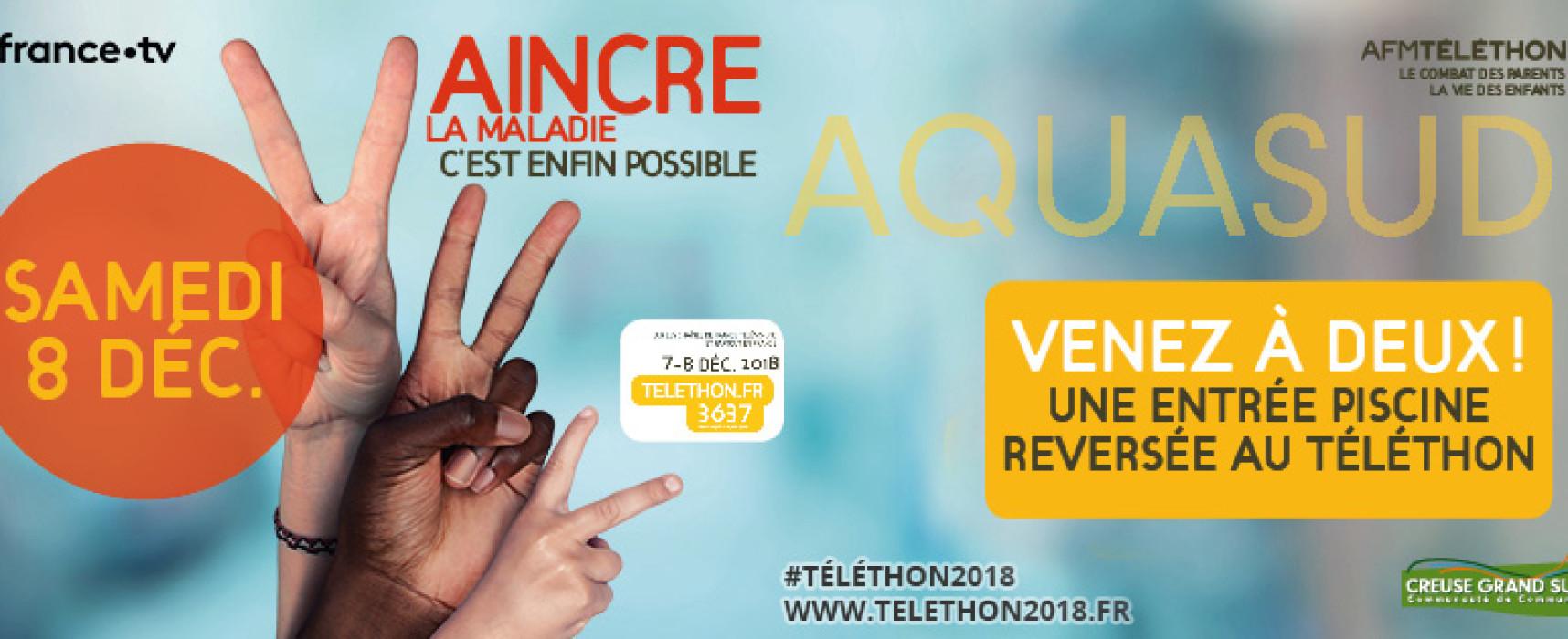 Téléthon 2018, Creuse Grand Sud se mobilise