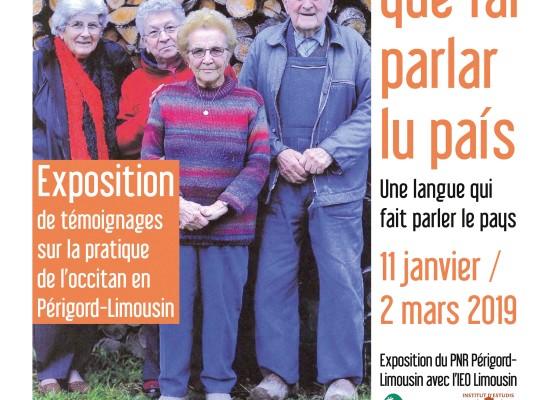 [EXPOSITION] Una linga que fai parlar lu país  #Médiathèque #Felletin