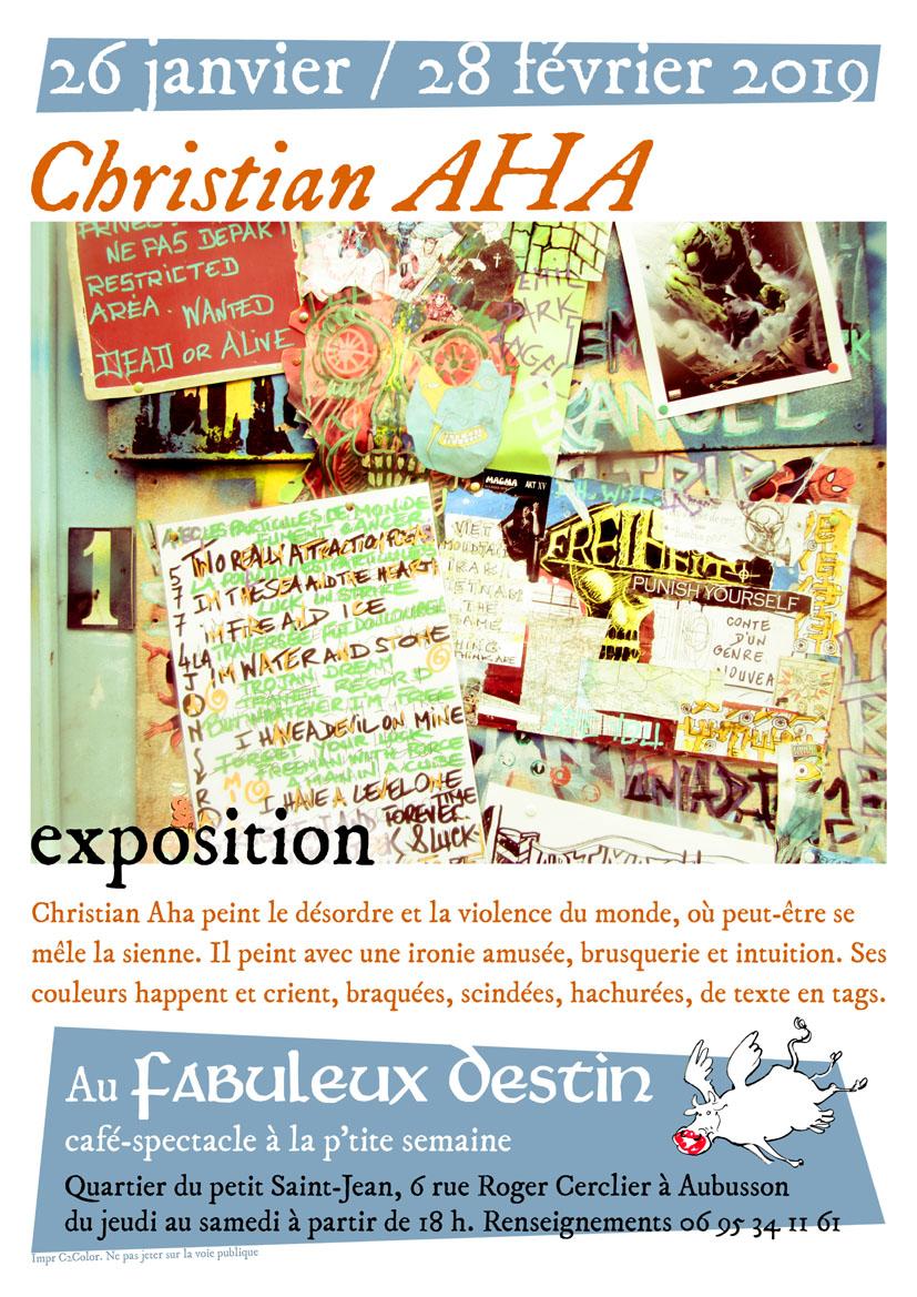 Expo AHA JANV-FEV 19