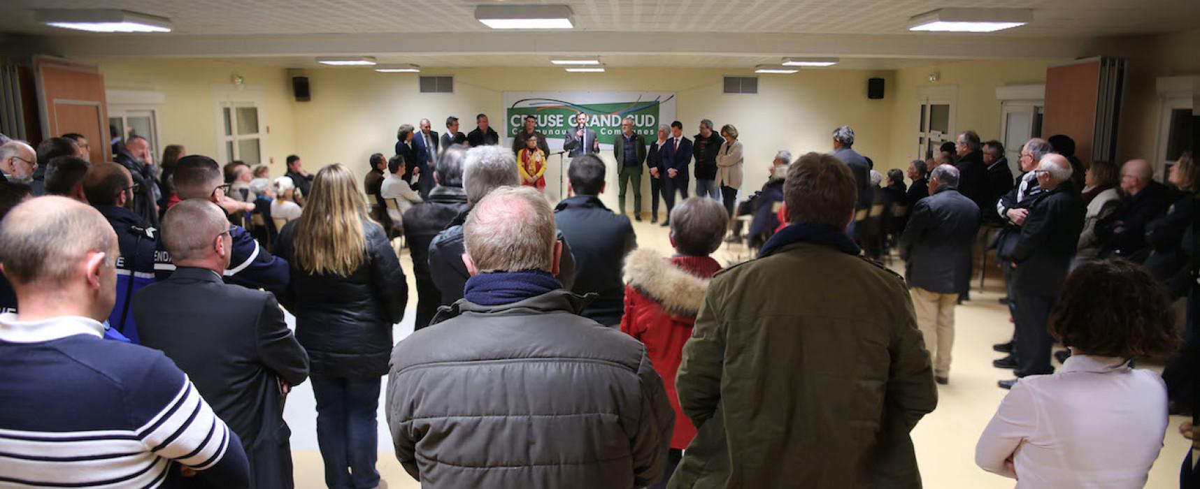 Cérémonie des voeux de la Communauté de communes Creuse Grand Sud 2019