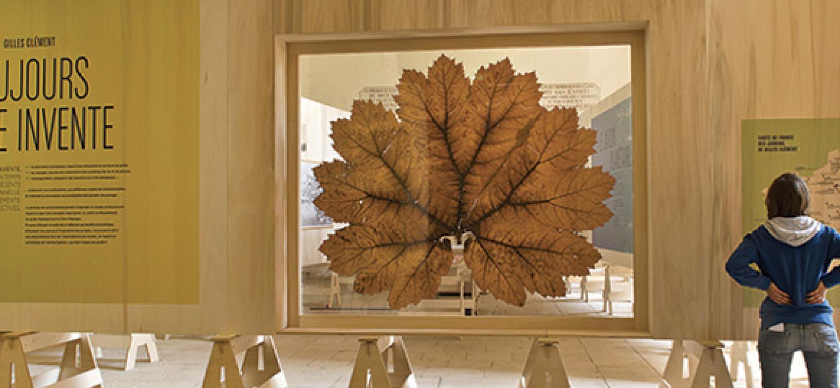 Exposition – «Gilles Clément : toujours la vie invente» #Lausanne