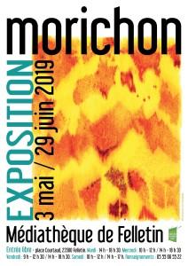 07 - Affiche expo MORICHON MAI-JUIN 19