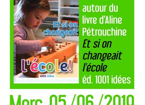 Conférence / Dédicace – Aline Pétrouchine #Felletin – Mercredi 5 juin 2019