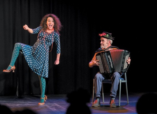 Spectacle – Graines de Blues #Aubusson #Coquelicontes