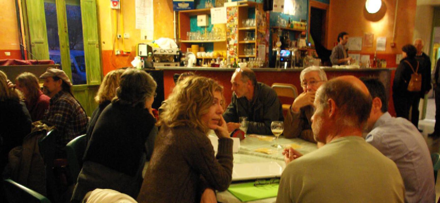 Café-transmission de l'ADEAR Limousin #Médiathèque #Felletin